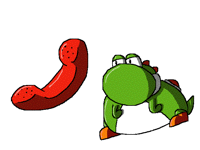 Yoshi makes a phone call (Dunkey)
