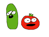 Why do I keep seeing veggietales
