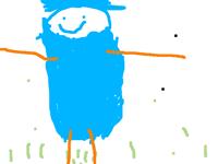My sister drew herself