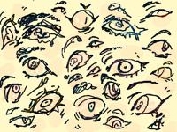 eyes sketches