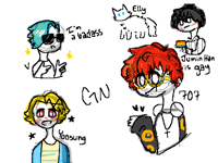 gn + mm sketches