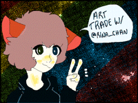 -ART TRADE W/@RINA_CHAN -