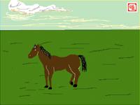 Run, run, horse