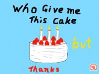 It's not my birthday