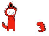 Concerned Dino boi