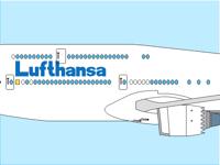 Lufthansa Boeing 747-8 Plane