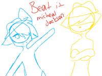Beat it Michal Jackson (brotherhood sketch ?anim?)