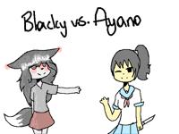 Blacky Vs Ayano (Yuri vs Kotonoha unfinished)