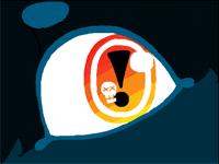 Random cat eye