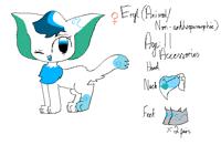 New OC: Eryl (human + animal)