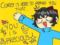 Corey's Reminder