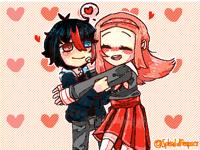 Boksuunga Hug with Daichi (@Smile_jelen)