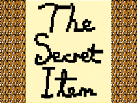 The Secret Item