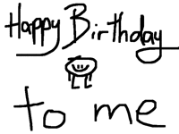 my folio birthday i guess