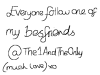 Follow her @The1AndTheOnly