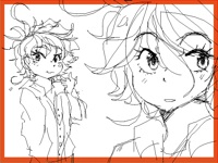Emma from « The promised Neverland »