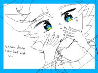 @kittywithabomb ( practice doodle)