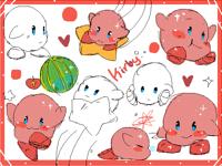 Kirby doodles redraw