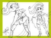 Character design bird