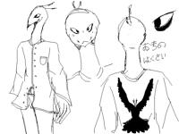 Okino hokusai (おきの はくさい) doodles
