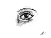 Eye study sketch