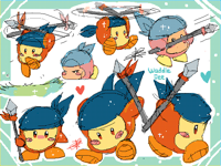 Waddle Dee doodles