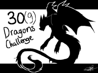 30 dragons challenge(9 dragons dif.designs) sketch