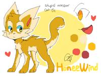 Honey wind , Warrior Cat Oc