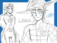 Old boy doodles