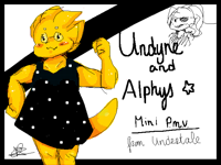 Undyne and alphys mini P.M.V.