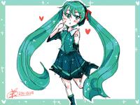 Hatsune Miku [Fanart)