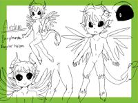 Archie doodles