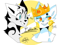 2 attacks @duskthewolf and @fearlessrain