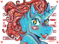 Pony head Redraw[Fanart]