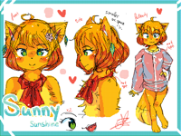 Sunny sunshine (main oc) ref february 2019
