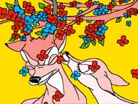 Bambi and Faline 🦌