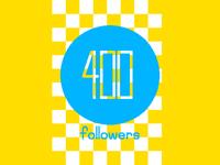 400 Followers!