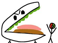 Evil chezburger