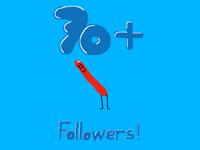 70+ followers!!