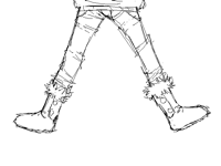I can't rlly draw legs