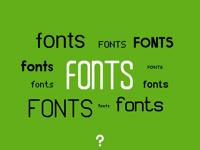 1TUTO: Fonts