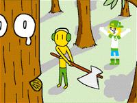Lumberjack #Recyclers #AnActualAnim