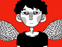 sad angel