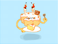 12.1Birthday cake