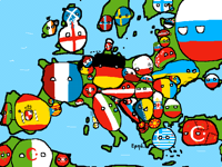 Countryball Europe