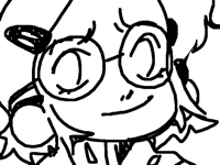 heeey I got my glasses heh