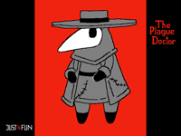 The Plague Doctor (Circle)