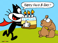 Oh happy day! @FussiArt