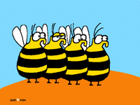 Four Bees
