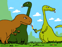 The real reason dinosaurs became extinct @Odminey
